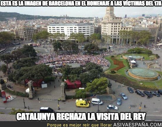 91331 - Vacía la Plaça Catalunya