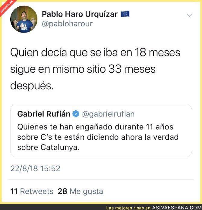 91586 - Gabriel Rufián y su palabra