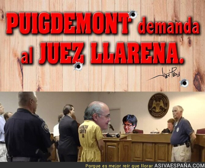 91883 - Puigdemont a por el Juez Llarena