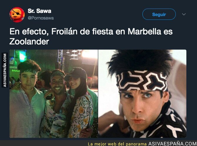 91901 - Froilán y sus fiestas