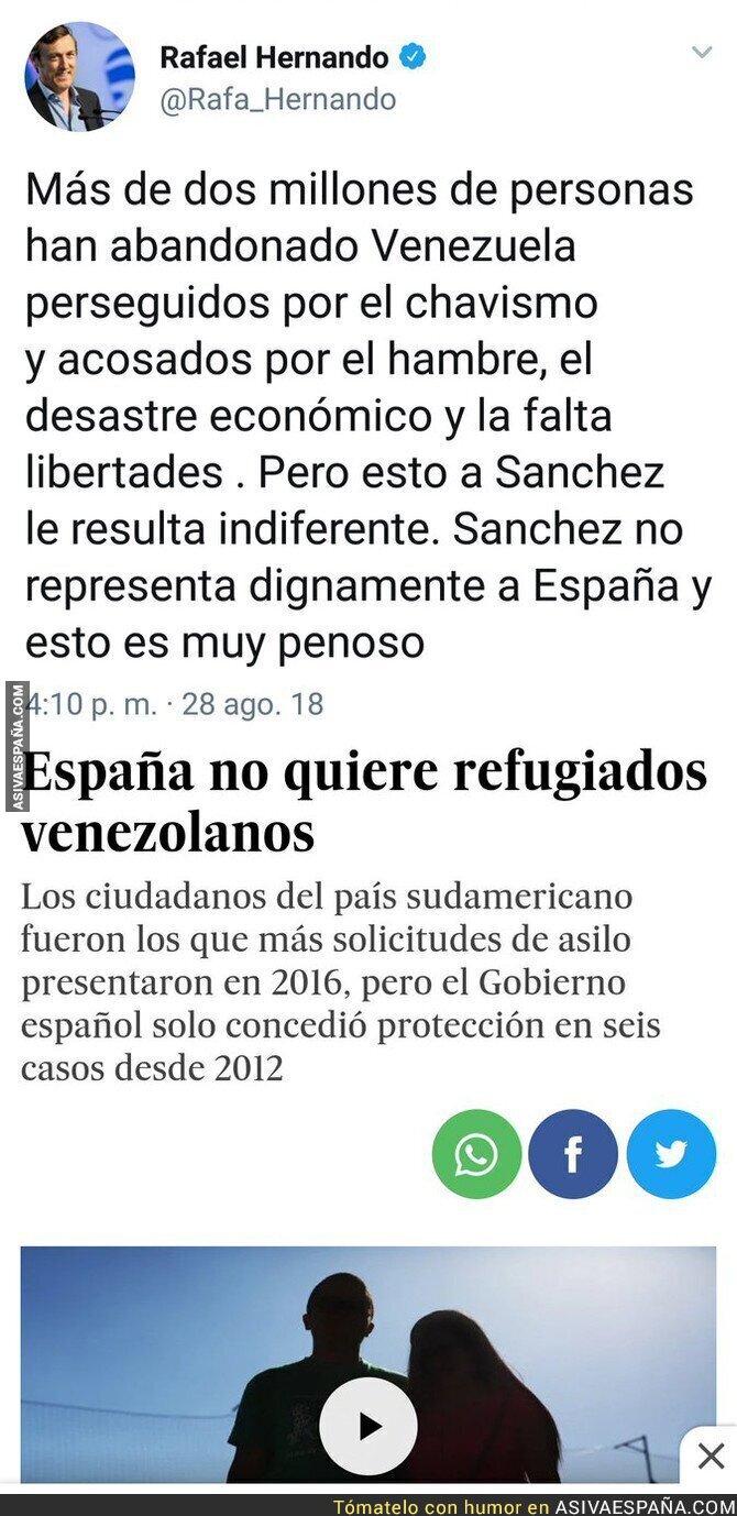 91922 - Al PP ahora si le interesan los refugiados venezolanos