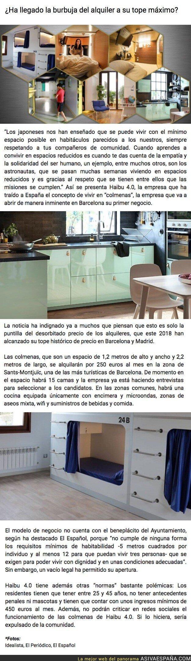 92503 - Los pisos colmena llegan a Barcelona: cápsulas de 3 metros por 250 euros al mes