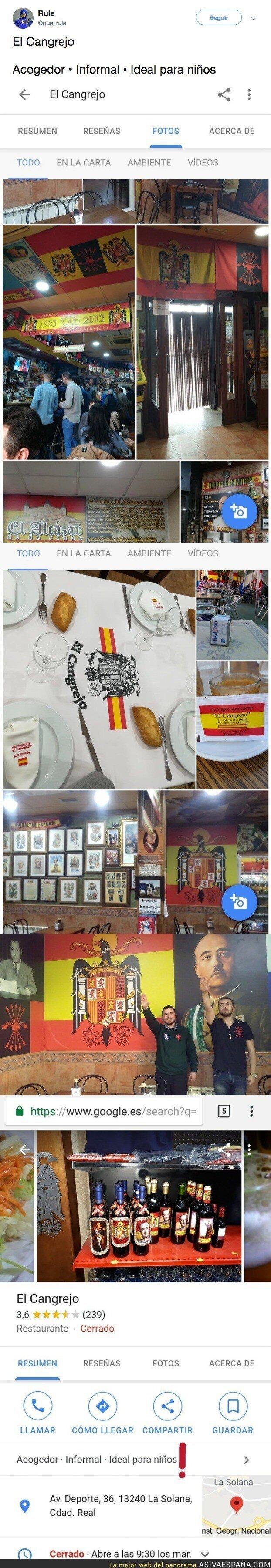 92513 - El bar donde Franco estaría más a gustico que en el Valle de los Caídos