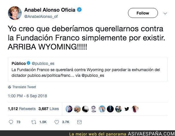 92538 - Anabel Alonso, sin pelos en la lengua, tiene valientes contestaciones para todos