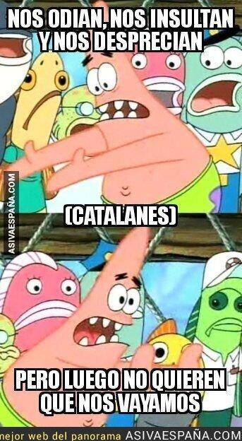 92887 - Algunos españoles contra los catalanes