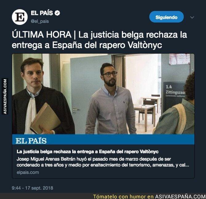 93250 - La justicia belga vuelve a dar un revés a España ahora con Valtonyc