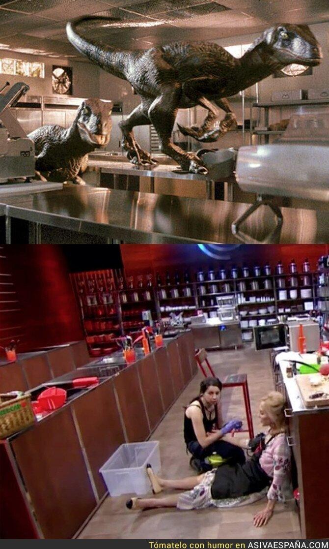 93277 - Drama en la cocina de Masterchef con el desmayo de Carmen Lomana