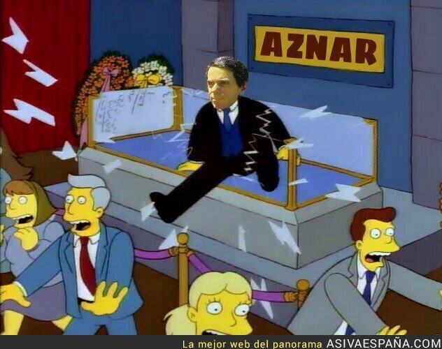 93314 - Aznar vuelve al Congreso
