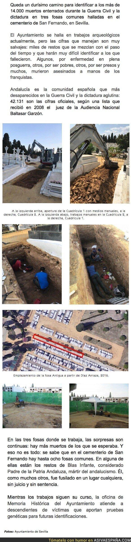 93477 - Más de 14.000 muertos en fosas encontradas en Sevilla