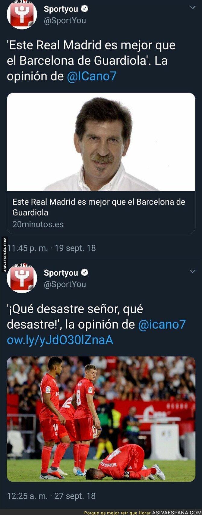 93901 - Este es el nivel del periodismo deportivo de Iñaki Cano