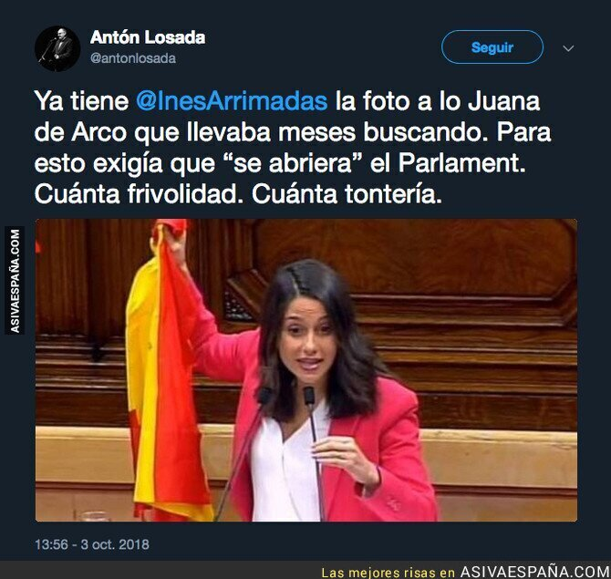 94168 - Ciudadanos vuelve a montar el show en el Parlament