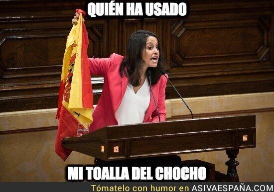 94214 - Inés Arrimadas está indignada