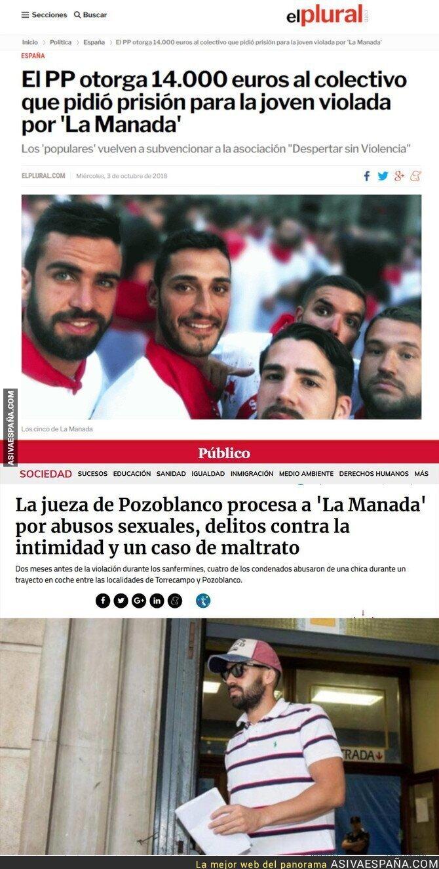 94236 - Dos noticias juntas sobre La Manada