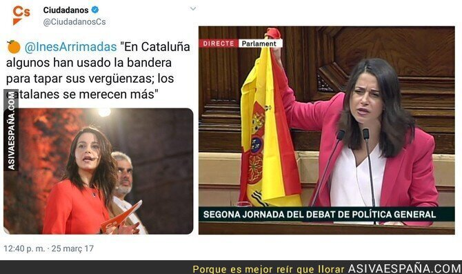 94304 - Inés Arrimadas vuelve a quedar retratada