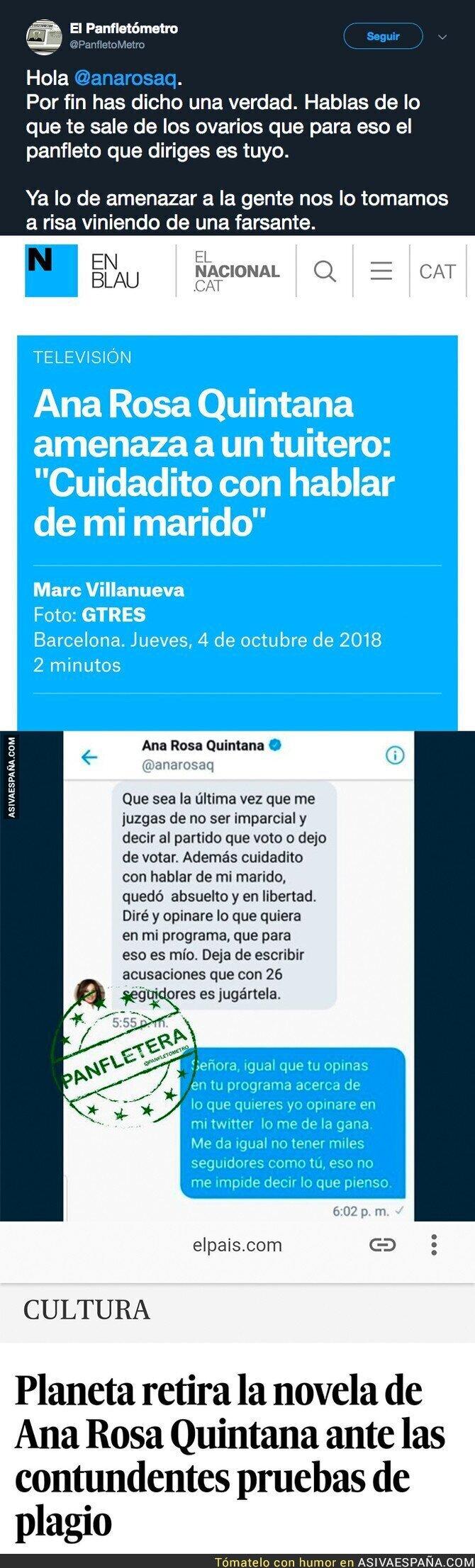 94318 - Las amenazas de Ana Rosa Quintana