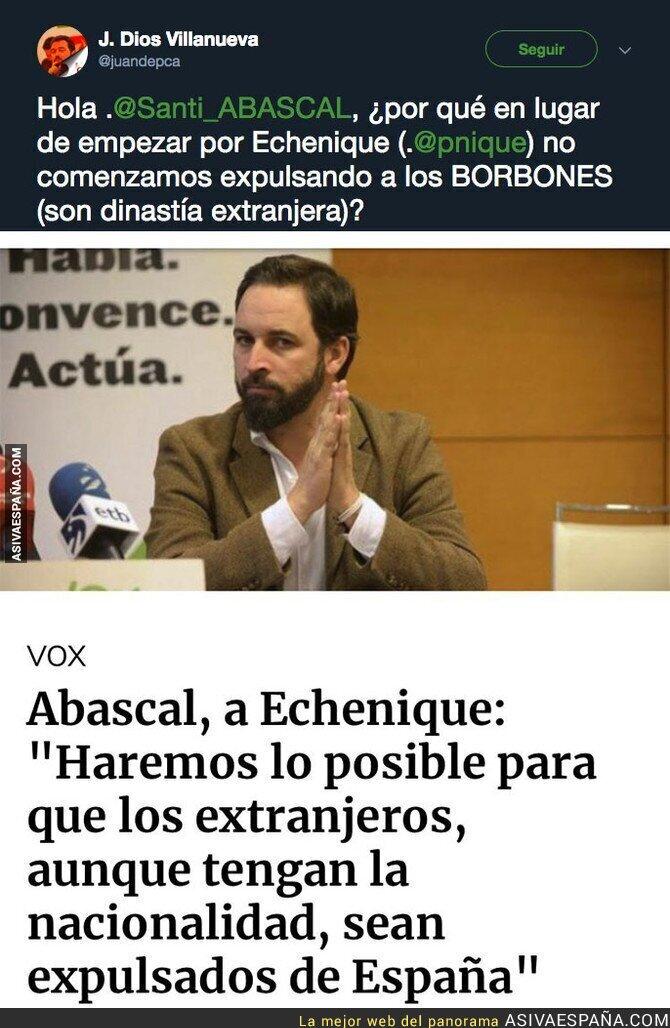 94723 - Las intenciones de VOX con los extranjeros en España