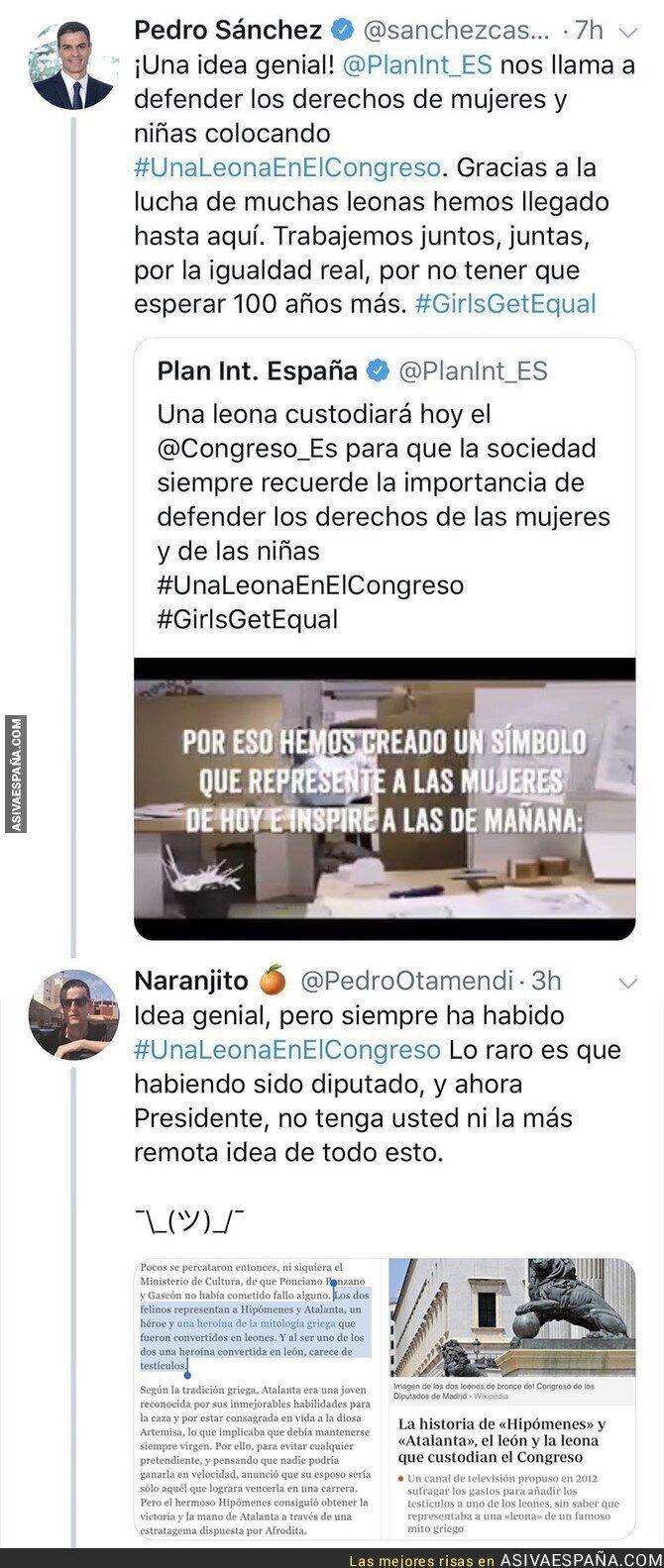 94733 - Tantos años en el Congreso y Pedro Sánchez aún ni se había enterado