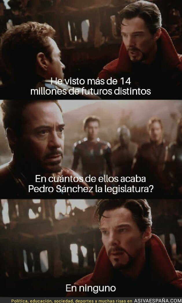 94969 - Suerte Pedro Sánchez