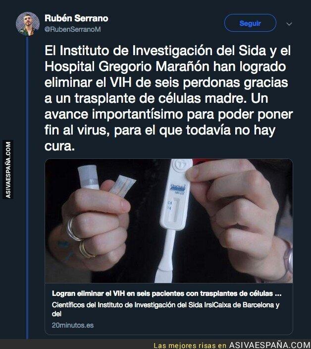 95071 - El Hospital Gregorio Marañón logra un importantísimo avance contra el VIH