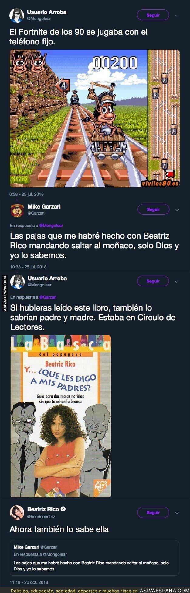 95598 - Beatriz Rico se saca una gran respuesta después de que tuiteros recuerden su pasado en el 'Telecupón'