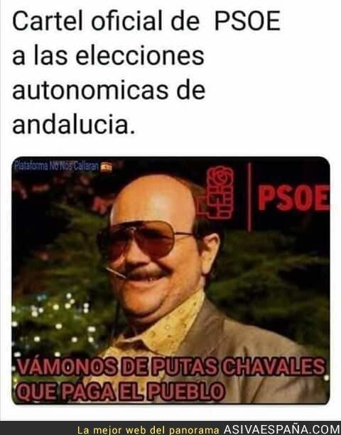 95831 - La PSOE- Andalucía S.L.