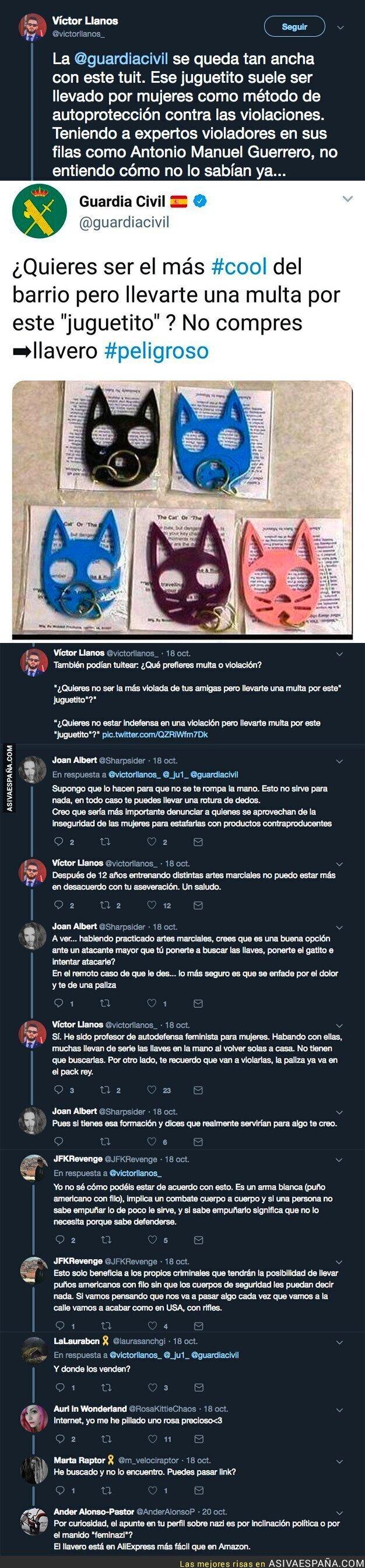 96093 - La Guardia Civil alerta que te puedes llevar una multa por llevar ese 'juguete' por la calle