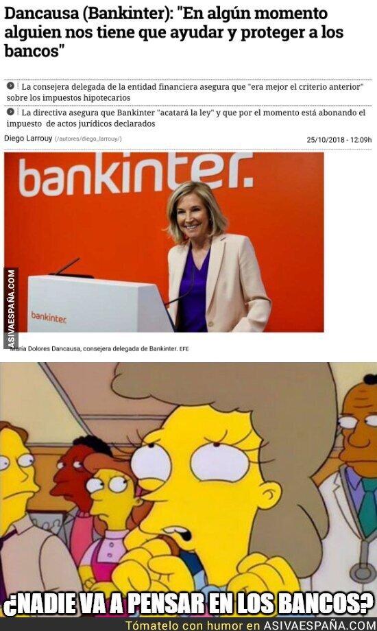 96117 - Pobres bancos, hay que protegerlos
