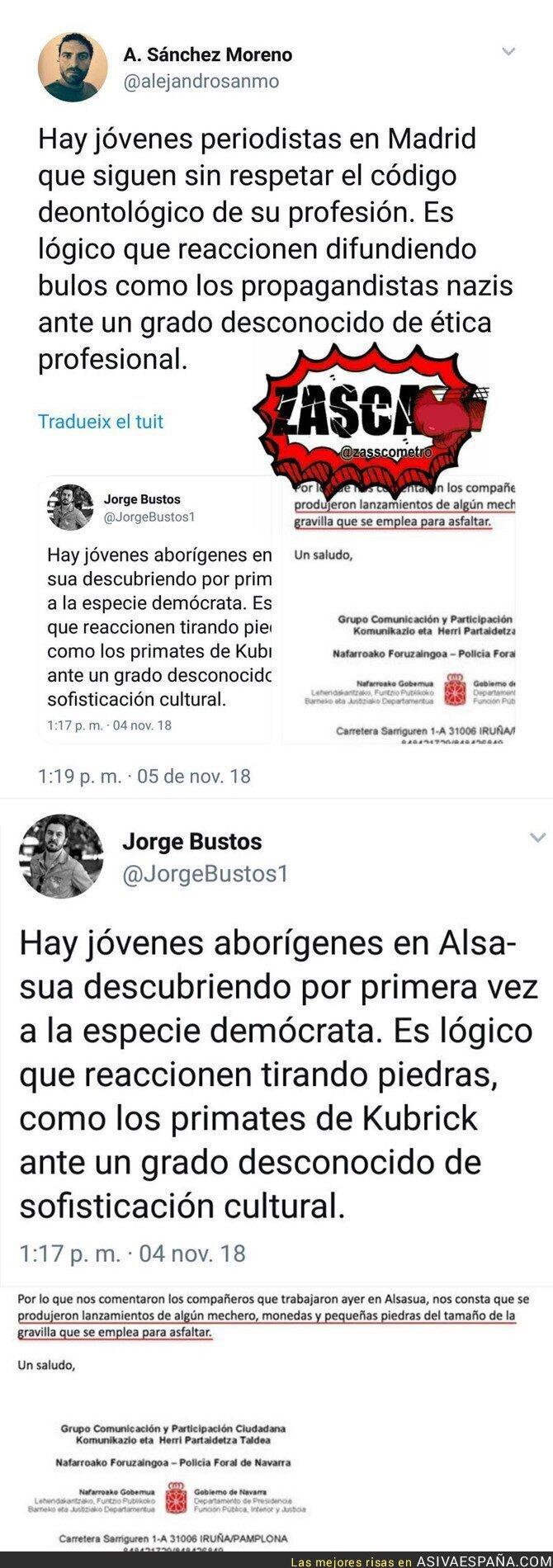 97234 - El periodismo que se hace desde Madrid contra la gente de Alsasua