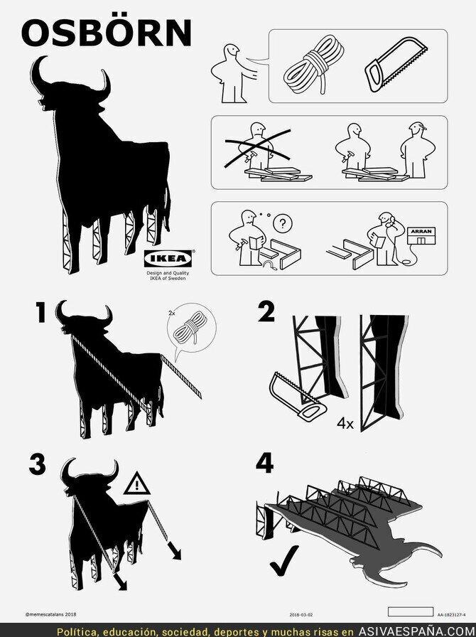 98070 - Desmontando el toro de Osborne