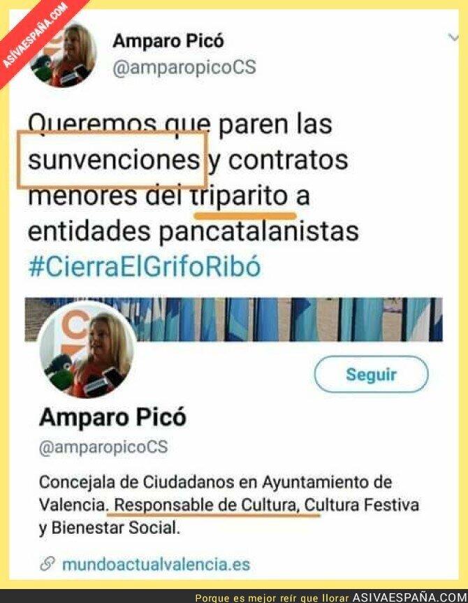 98224 - No hace falta decir nada sobre la responsable de cultura de Ciudadanos en Valencia