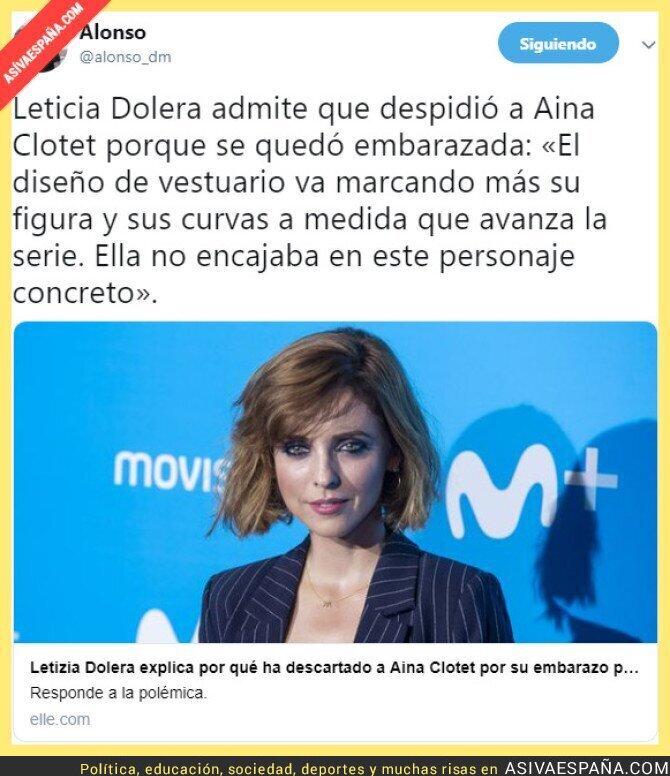 98275 - La machista de Leticia Dolera despide de su serie a una actriz embarazada