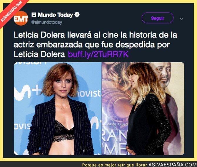 98510 - Leticia Dolera lo ha vuelto a hacer tras el despido a una embarazada