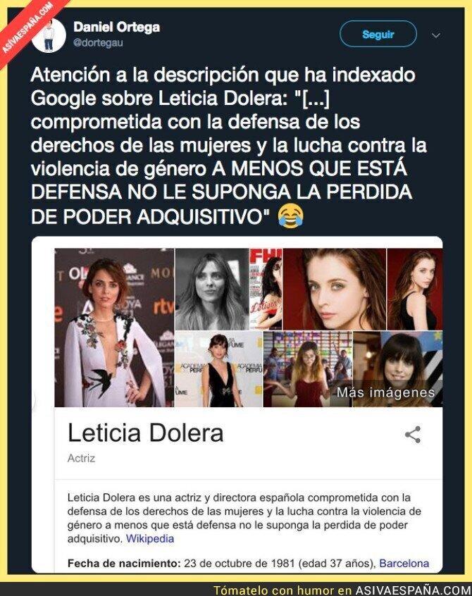 98527 - La Wikipedia de Leticia Dolera se actualiza