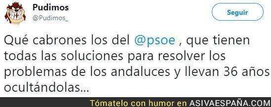 98951 - ¿Solucionará PSOE por fin los problemas de los andaluces?