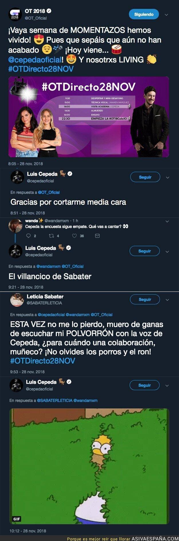 98985 - Leticia Sabater junto a Luis Cepeda es el dueto que todos estábamos esperando