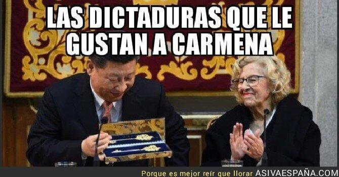 98990 - Carmena se rinde ante la Dictadura Comunista China