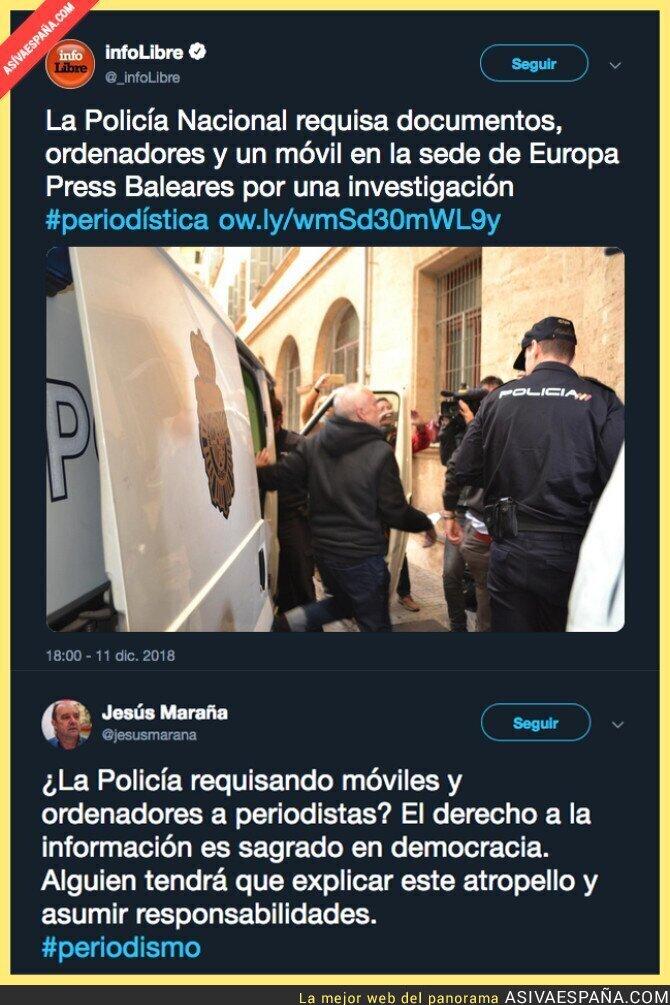 100249 - Los periodistas corren peligro en España