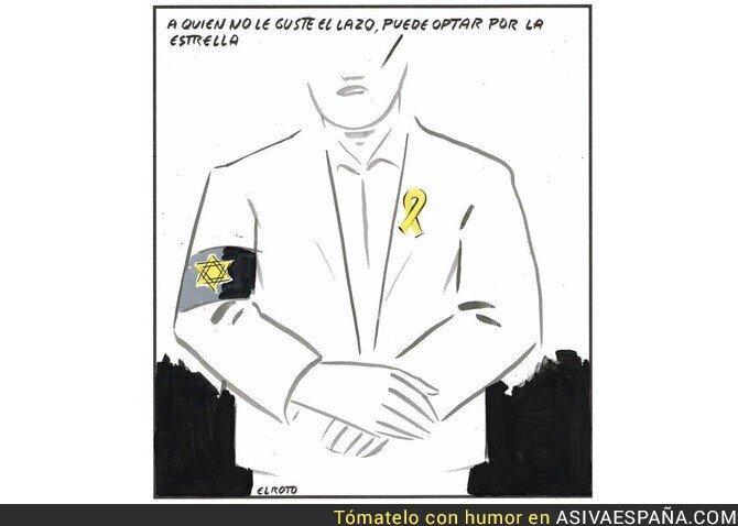 100288 - La polémica viñeta de 'El Roto' sobre el independentismo catalán