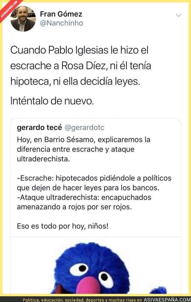 100332 - Sobre los escraches a Rosa díez