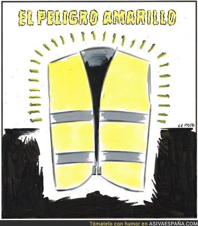 100421 - El amarillo es peligroso en todas sus formas, según ElRoto