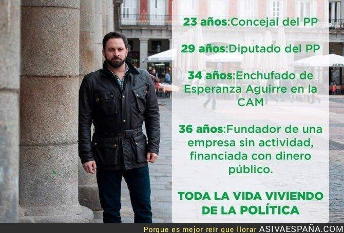 99399 - La vida política de Santiago Abascal