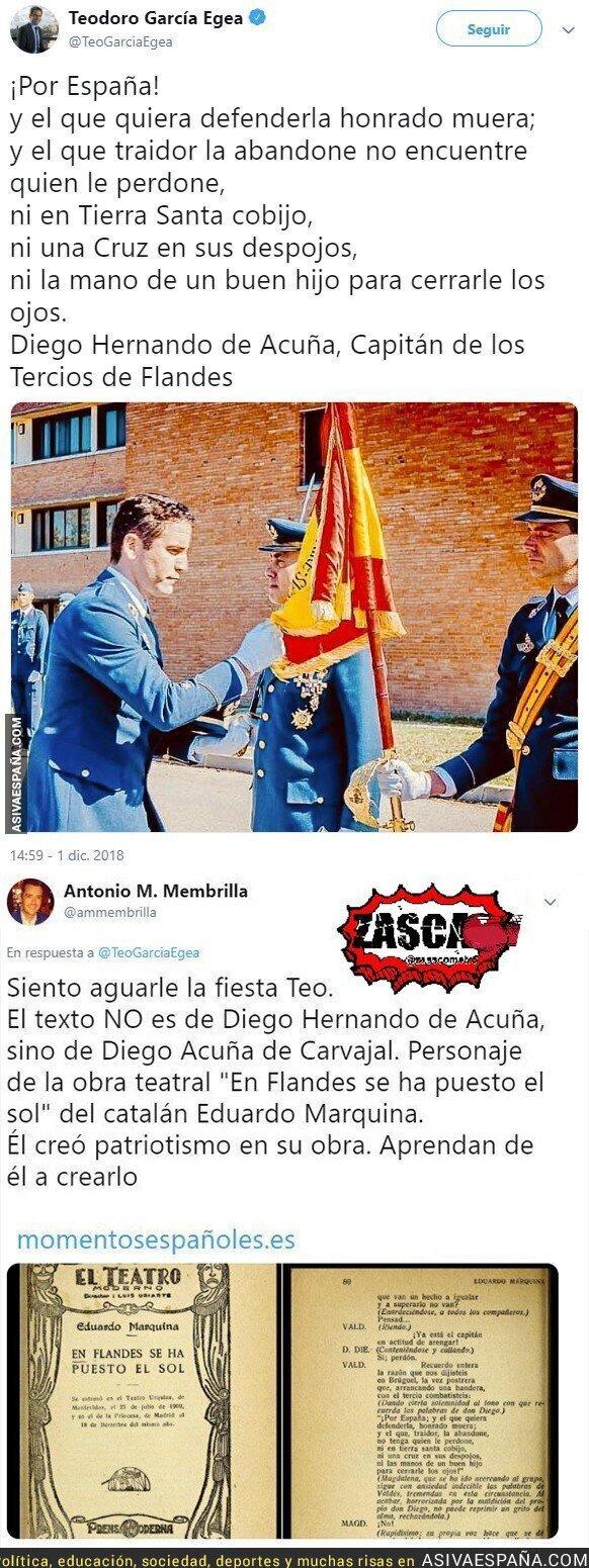 99566 - ZAS histórico a Teodoro García