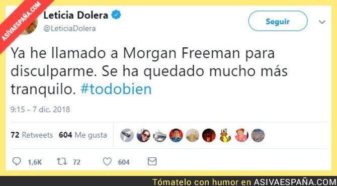 99884 - La broma de Leticia Dolera que da que pensar.