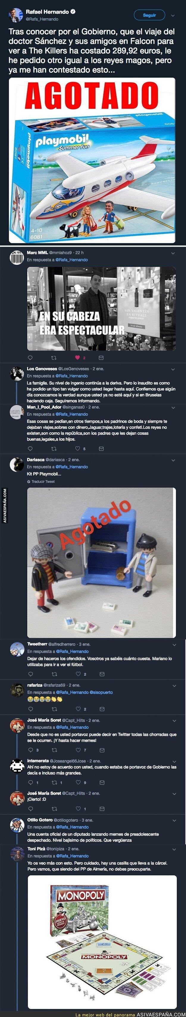 101695 - Rafael Hernando solamente quiere un regalo para Reyes Magos