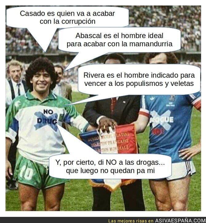 101909 - La infinita sabiduría de Maradona
