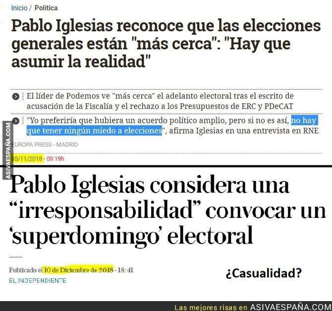 101956 - Ahora Pablo ya no quiere elecciones