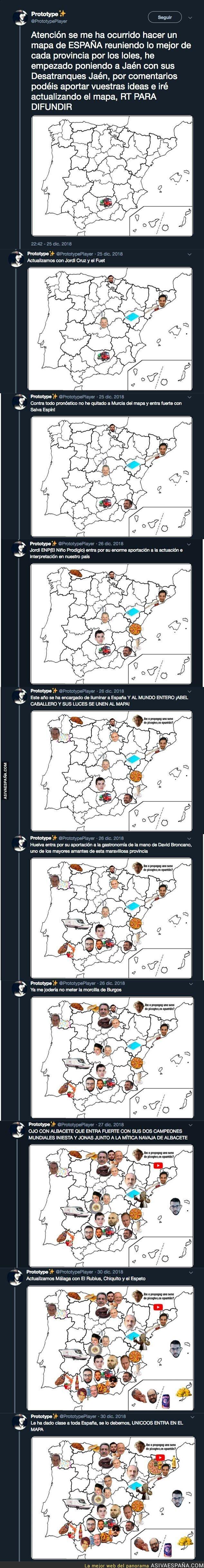 102106 - El mapa de los memes en España