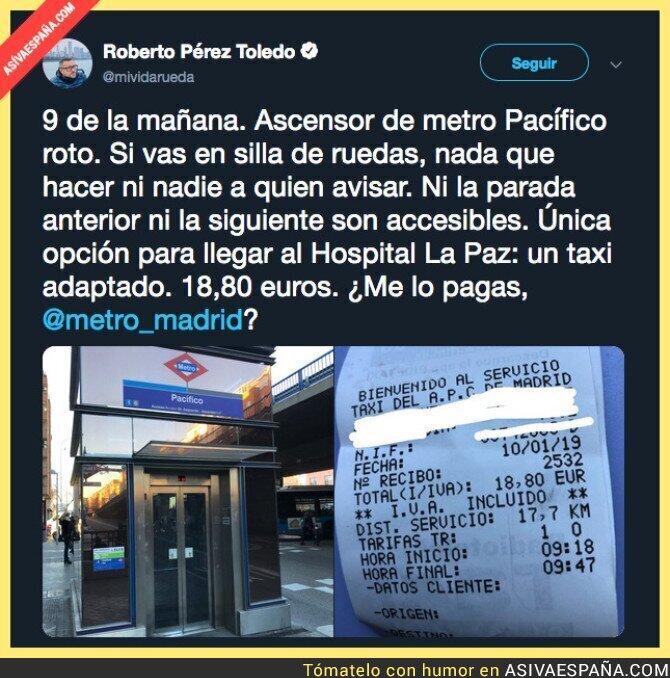 102229 - Es un desastre el Metro de Madrid