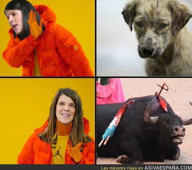 102377 - La taurina Ruth Beitia rechaza el maltrato animal