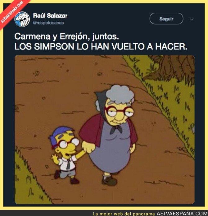 102767 - Los Simpson no dejan de clavarla: ahora con Íñigo Errejón y Manuela Carmena